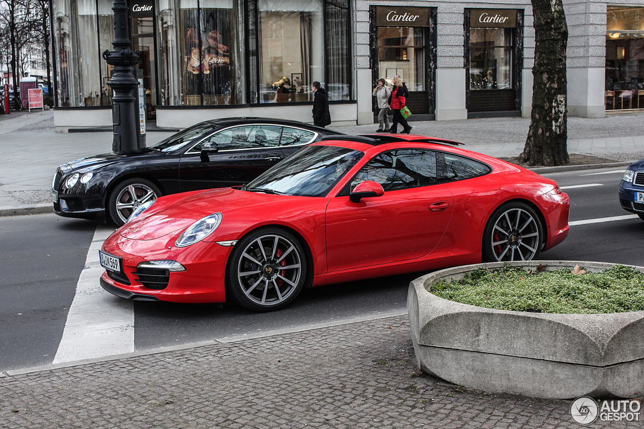 porsche 991 carrera s 14 april 2013 autogespot. Black Bedroom Furniture Sets. Home Design Ideas