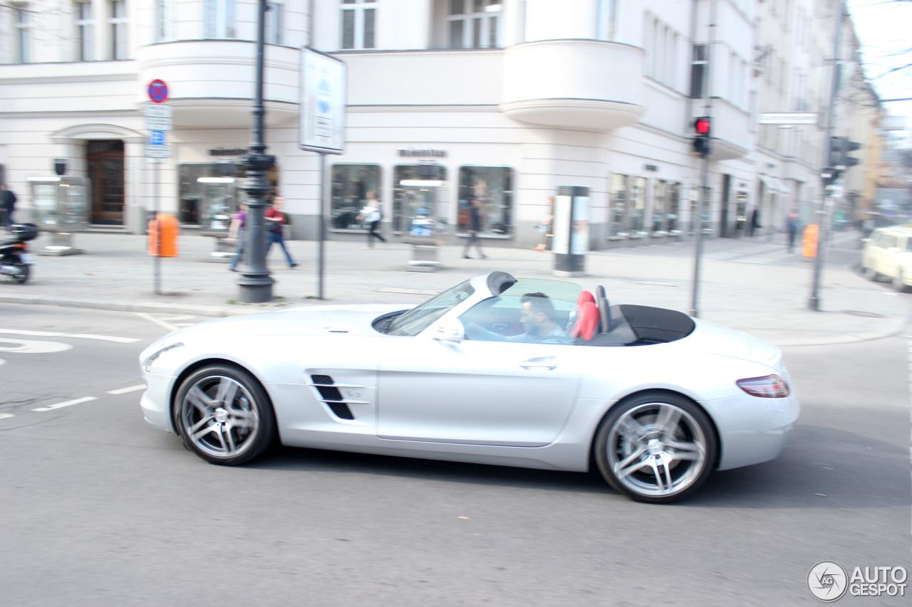 Mercedes-Benz SLS AMG Roadster - 18 April 2013 - Autogespot