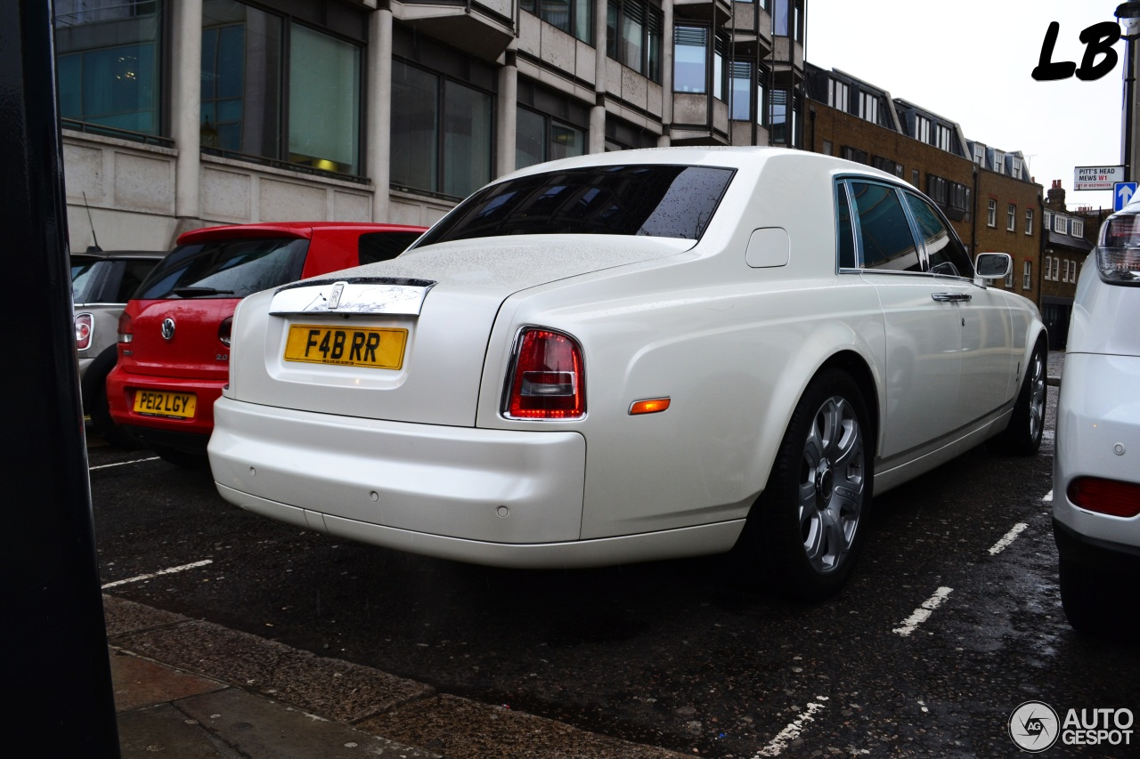 Rolls-Royce Phantom Project Kahn Pearl White - 18 April ...