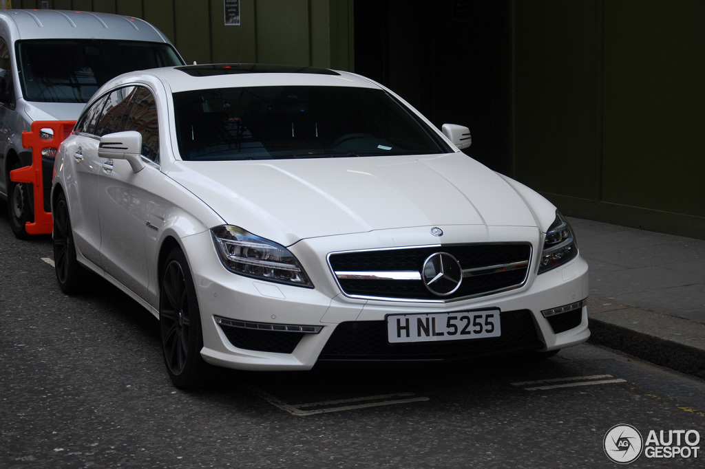 mercedes benz cls 63 amg x218 shooting brake 23 april 2013 autogespot. Black Bedroom Furniture Sets. Home Design Ideas