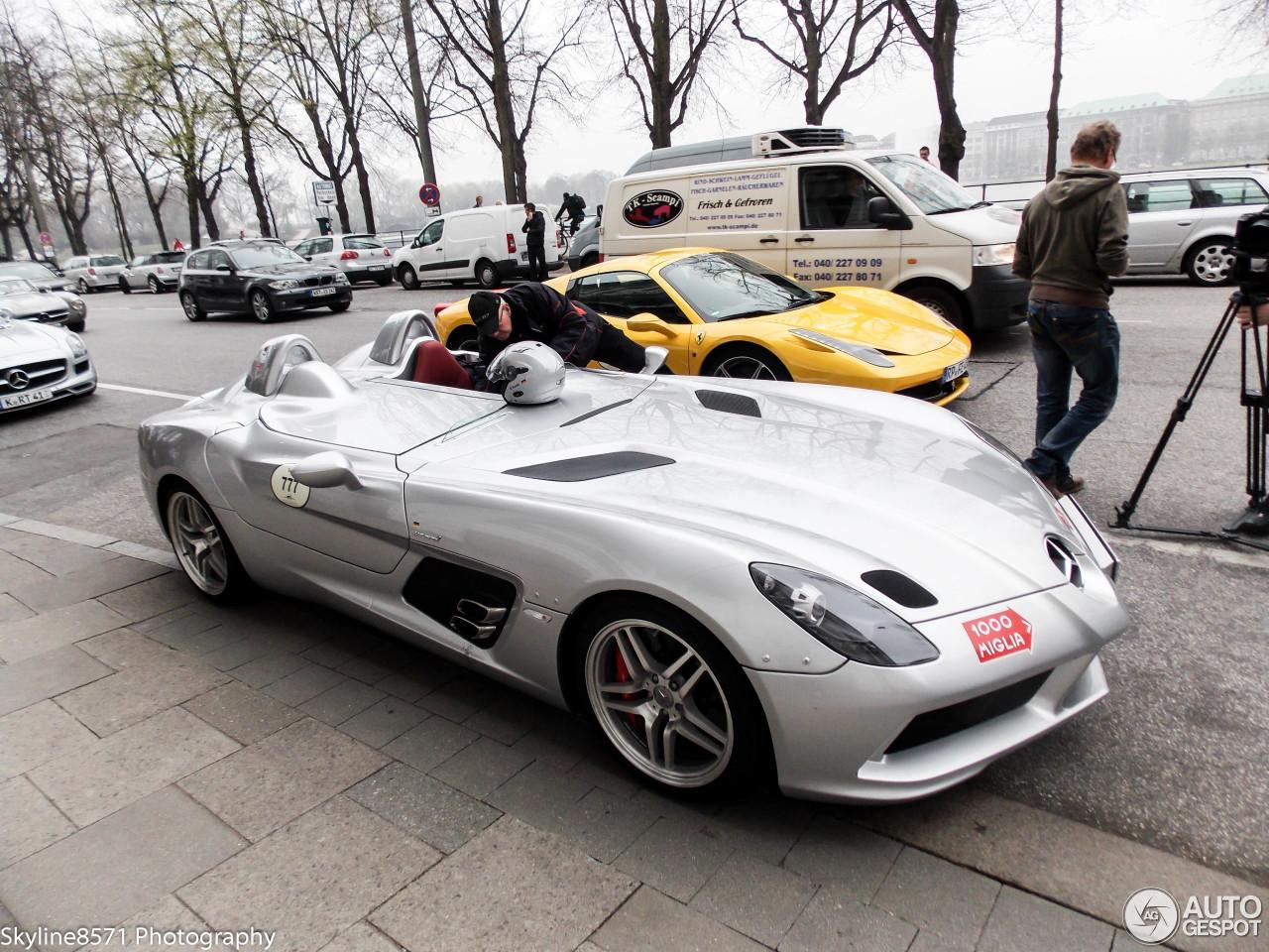 Mercedes Benz Slr Mclaren Stirling Moss 26 April 2013 Autogespot