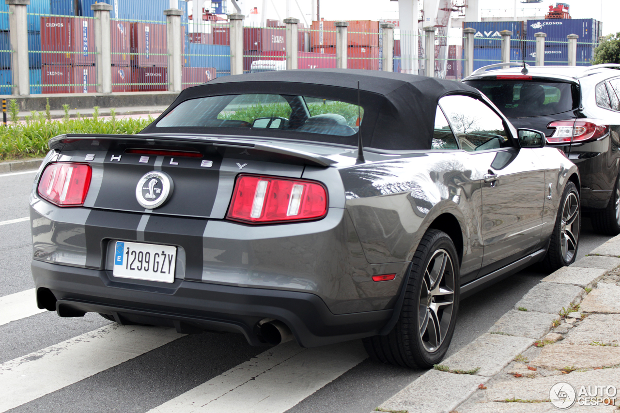 Ford Mustang Shelby GT500 Convertible 2010 - 30 April 2013 ...