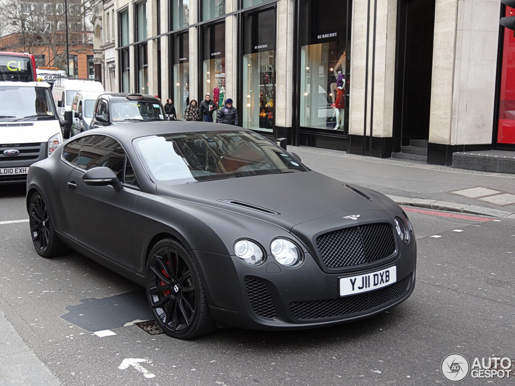 Bentley Continental Supersports Coup 233 27 May 2013