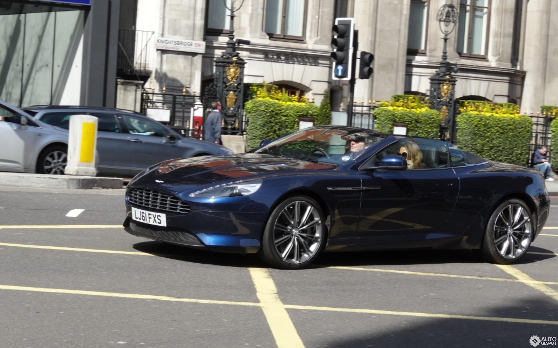 Aston Martin Virage Volante 2011 29 May 2013 Autogespot