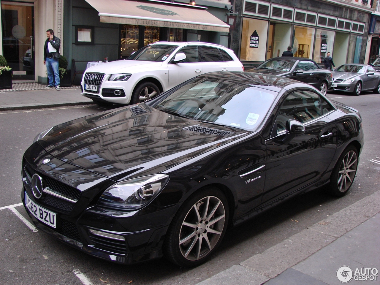 mercedes benz slk 55 amg r172 4 june 2013 autogespot. Black Bedroom Furniture Sets. Home Design Ideas