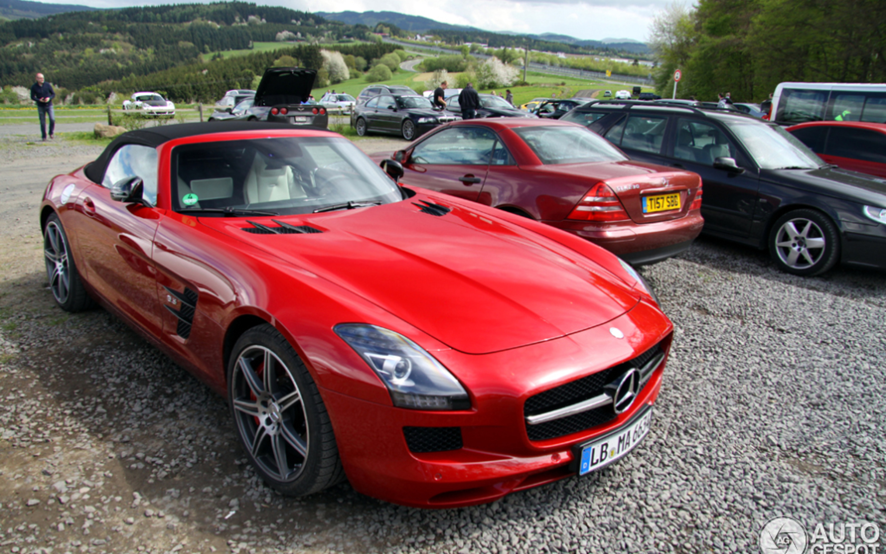 Mercedes Benz Sls Amg Gt Roadster 5 June 2013 Autogespot