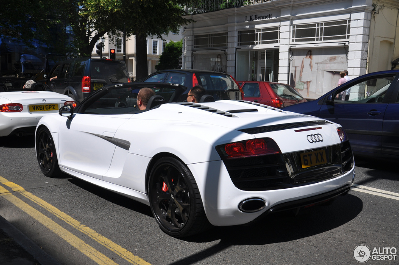 Audi r8 spyder matte black for sale 14