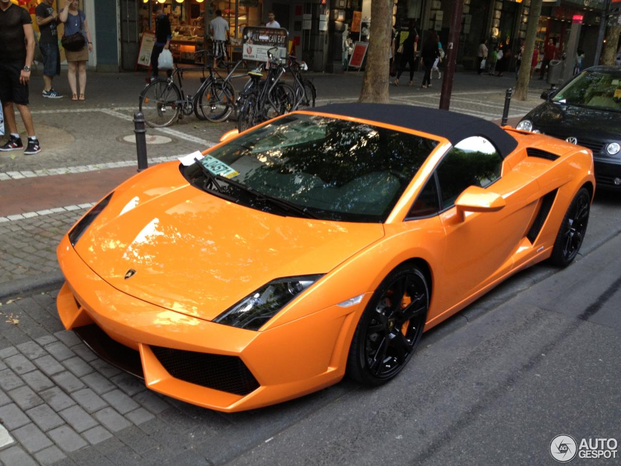 Marvelous Lamborghini Gallardo LP560 4 Spyder