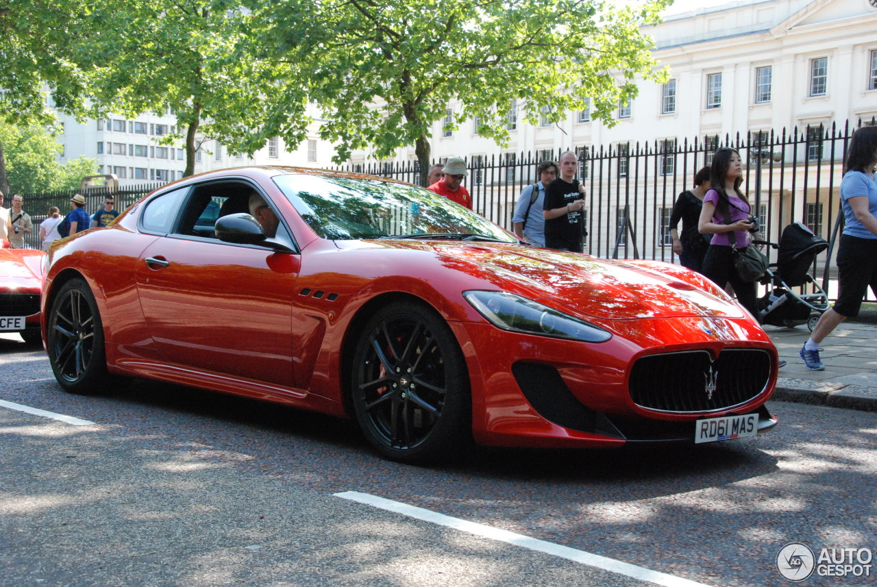 maserati granturismo mc stradale 10 july 2013 autogespot. Black Bedroom Furniture Sets. Home Design Ideas