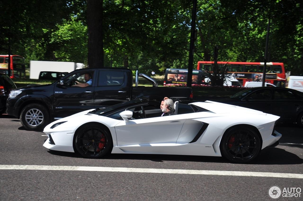 4 i lamborghini aventador lp700 4 roadster 4 - Lamborghini Aventador Roadster White