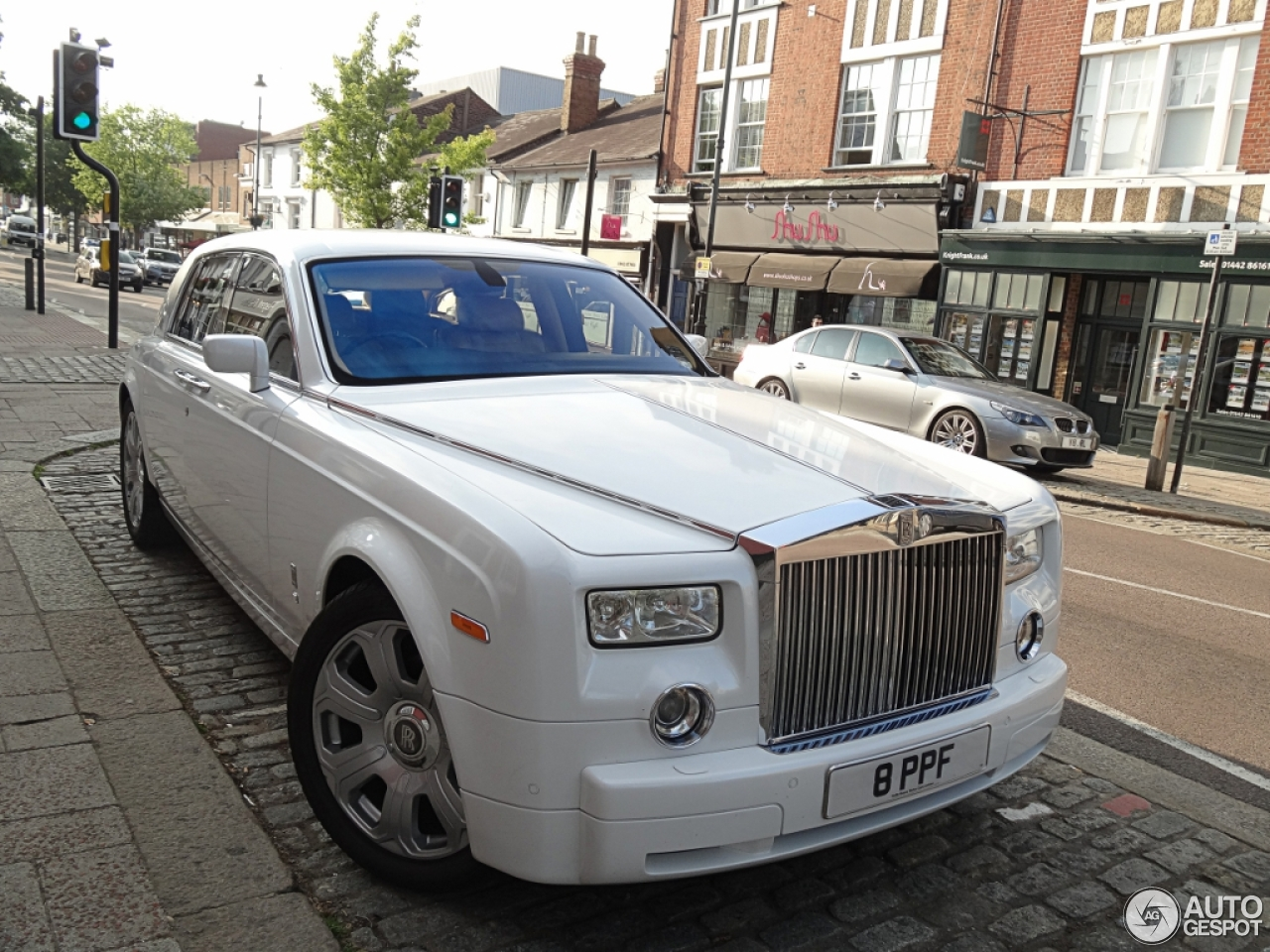 Rolls-Royce Phantom Project Kahn Pearl White - 12 July ...