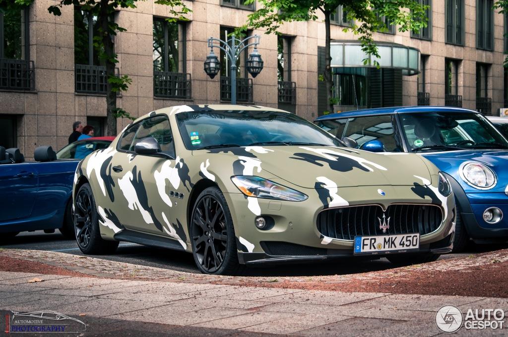 Maserati Granturismo S Mc Sport Line 17 Juli 2013