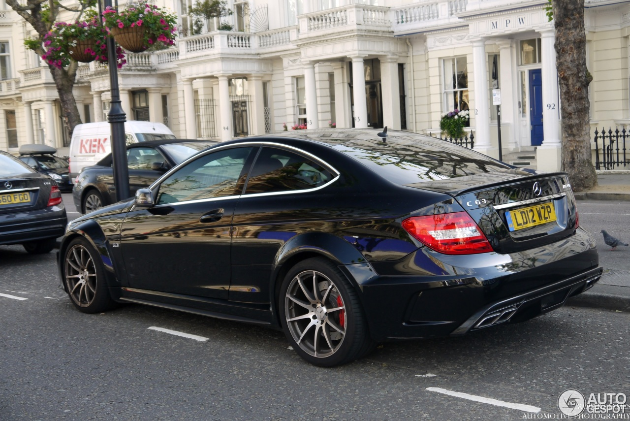 Mercedes Benz C 63 Amg Coup 233 Black Series 18 July 2013