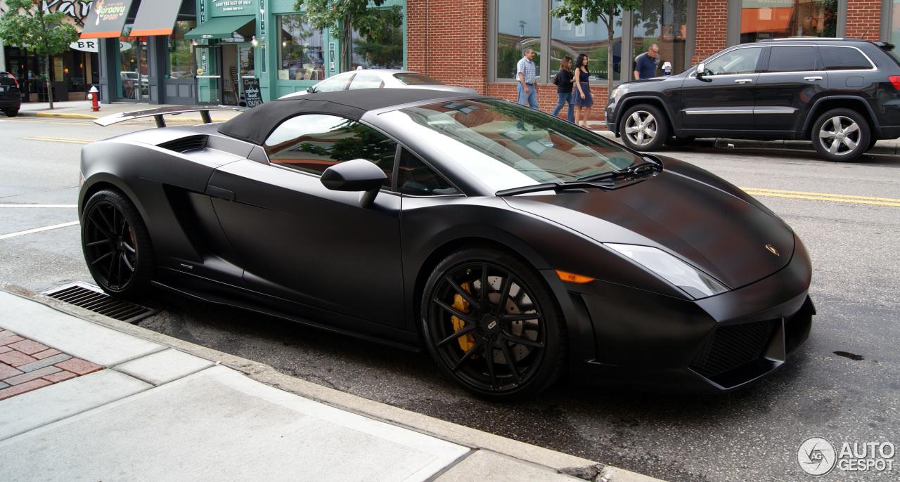 Great Lamborghini Gallardo LP560 4 Spyder