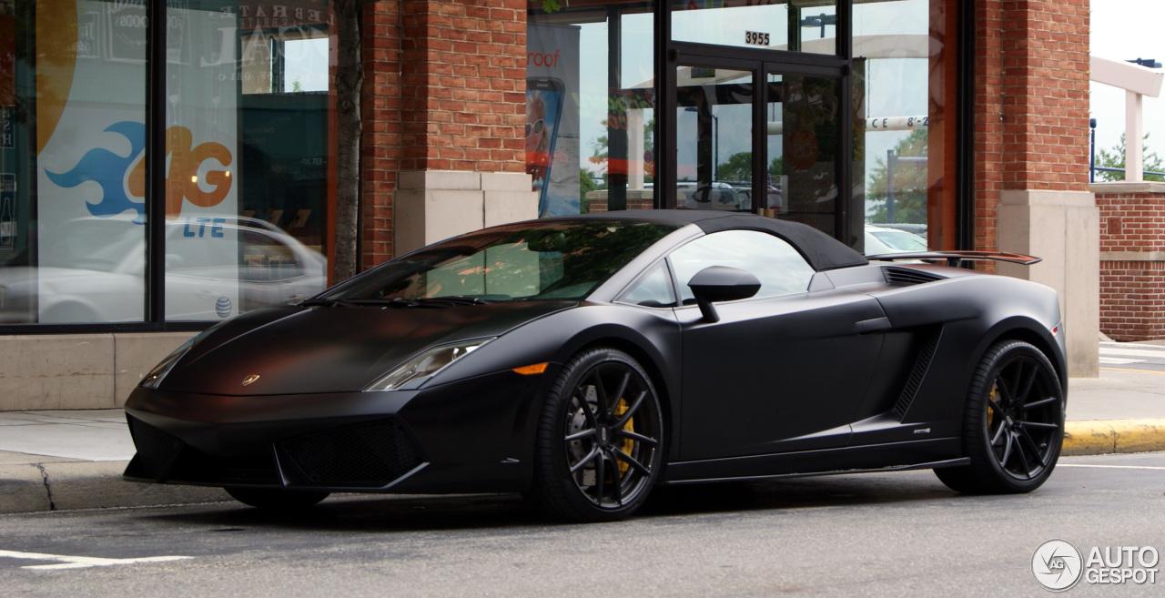 Lovely Lamborghini Gallardo LP560 4 Spyder