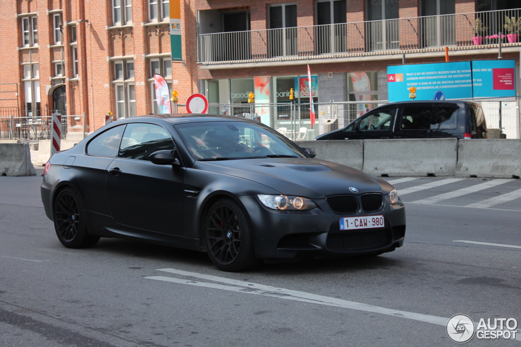 Bmw M3 E92 Coup 233 Frozen Black Edition 25 July 2013