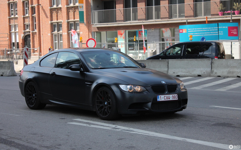 Bmw M3 E92 Coupe Frozen Black Edition 25 July 2013 Autogespot