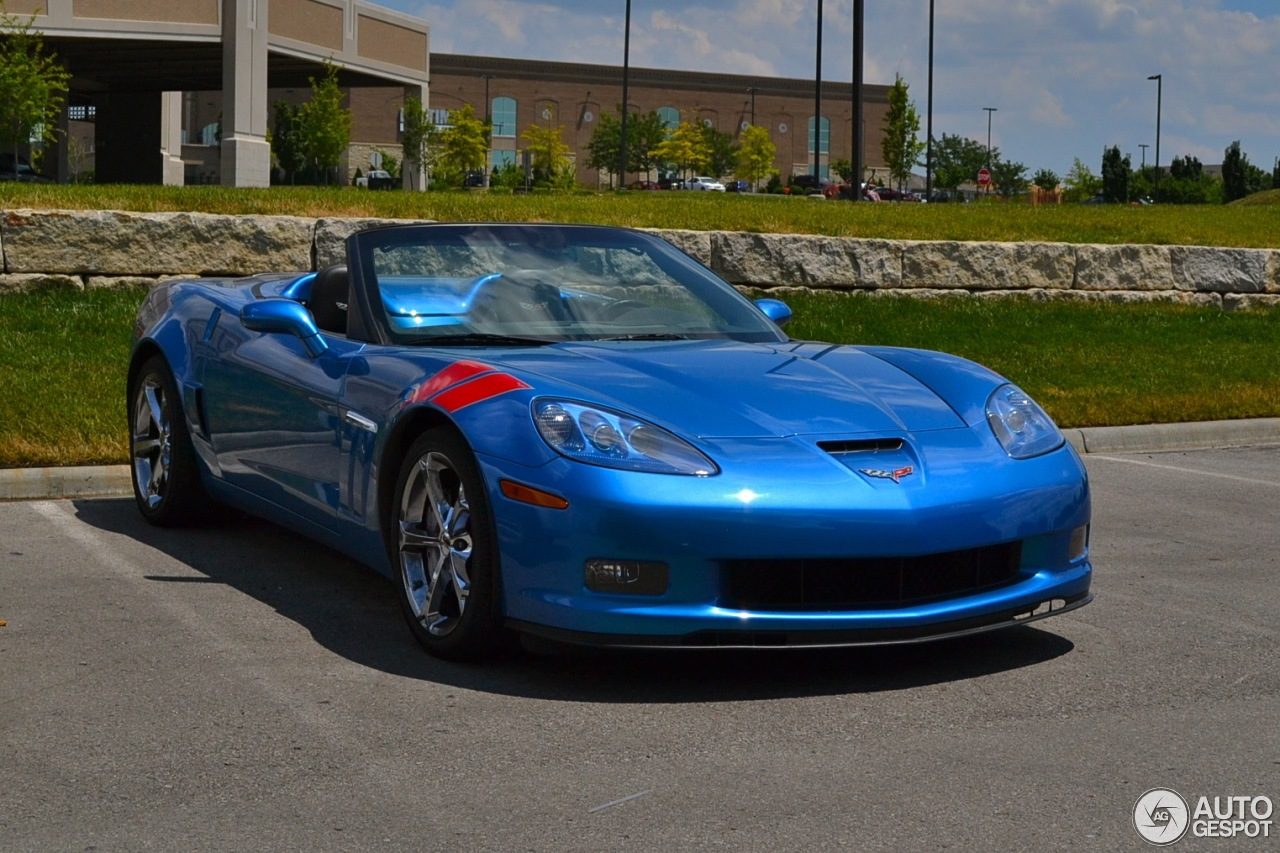 Chevrolet Corvette C6 Grand Sport Convertible 3 August