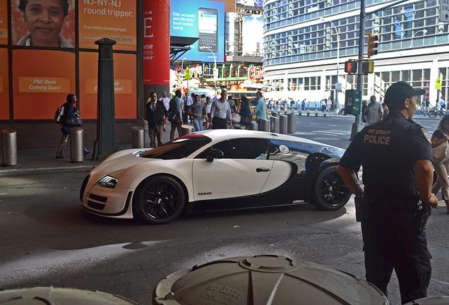 Bugatti Veyron 16.4 Super Sport Pur Blanc