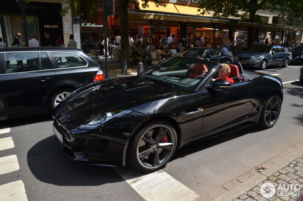 jaguar f type s v8 convertible 8 august 2013 autogespot. Black Bedroom Furniture Sets. Home Design Ideas
