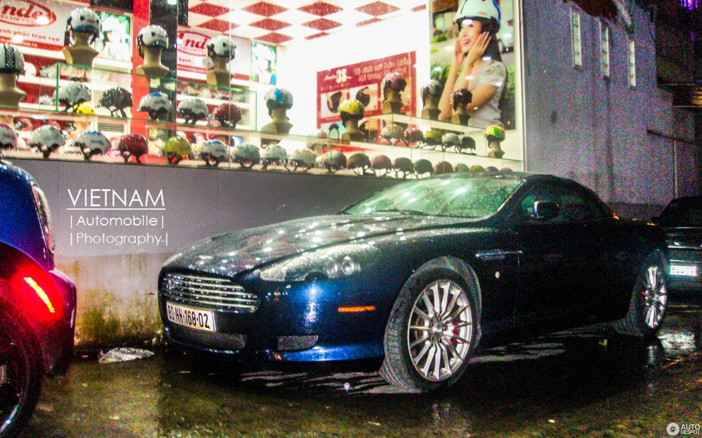 Aston Martin DB9 Volante 10 August 2013 Autogespot