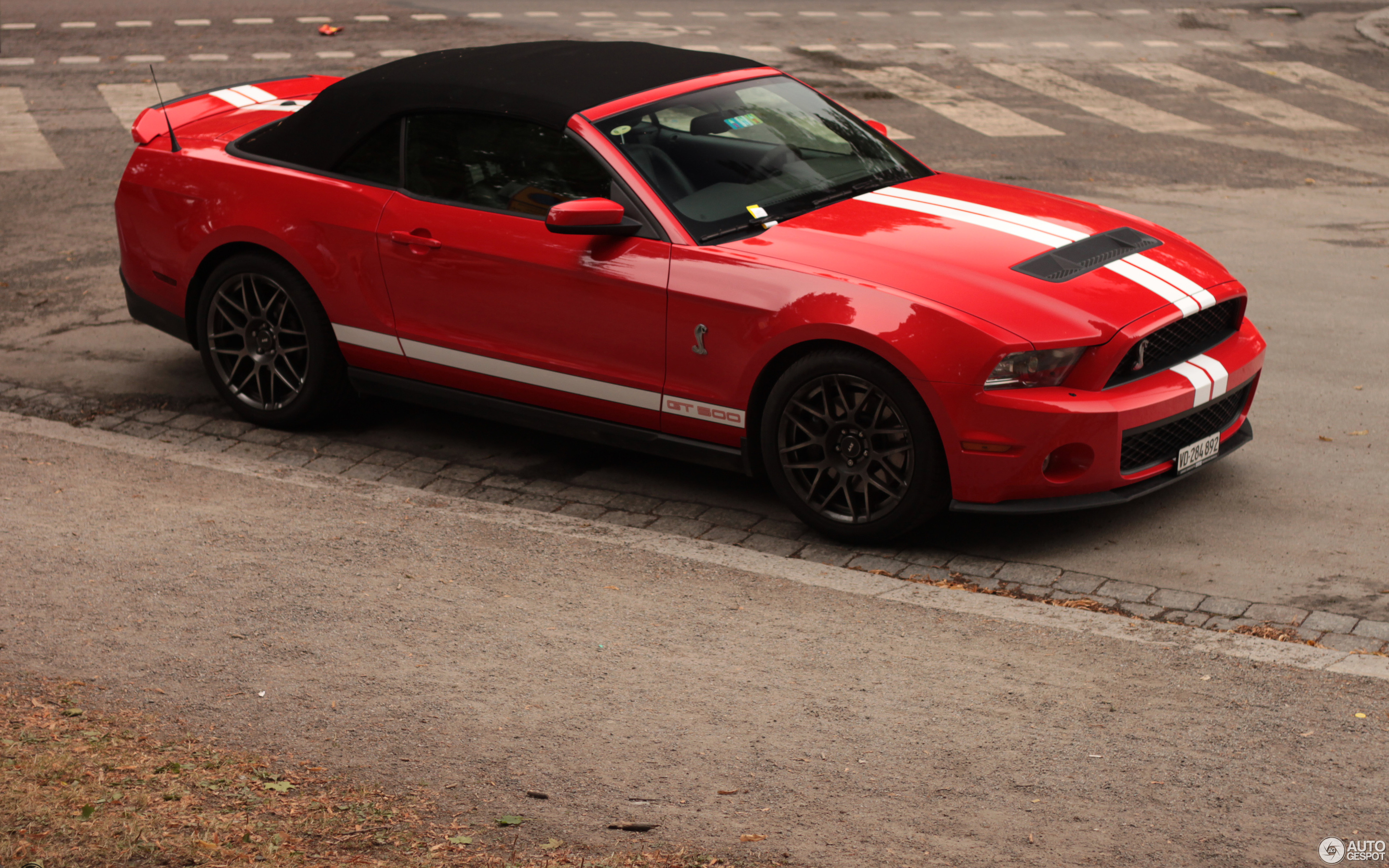 Ford Mustang Shelby GT500 Convertible 2014 10 August 2013 Autogespot