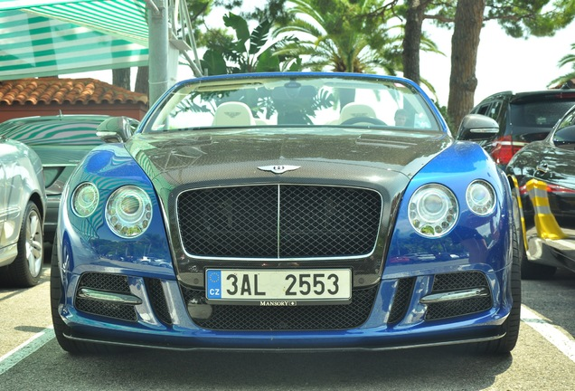 Bentley Mansory Continental GTC 2012
