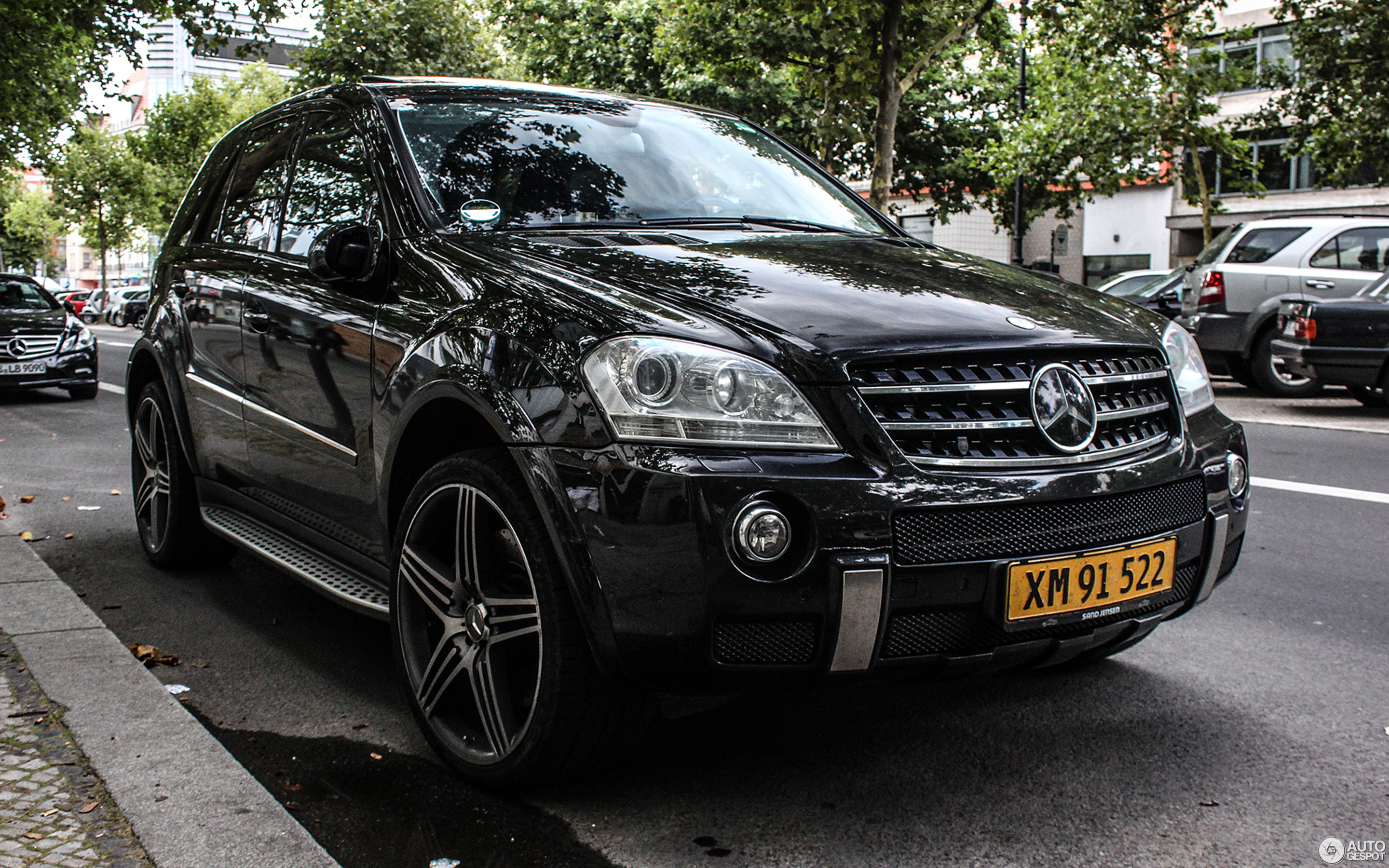 Mercedes Benz ML 63 AMG W164 21 August 2013 Autogespot