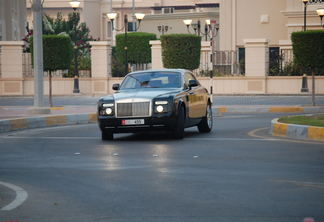 Rolls-Royce Phantom Coupé Baniyas Gold & Baniyas Black