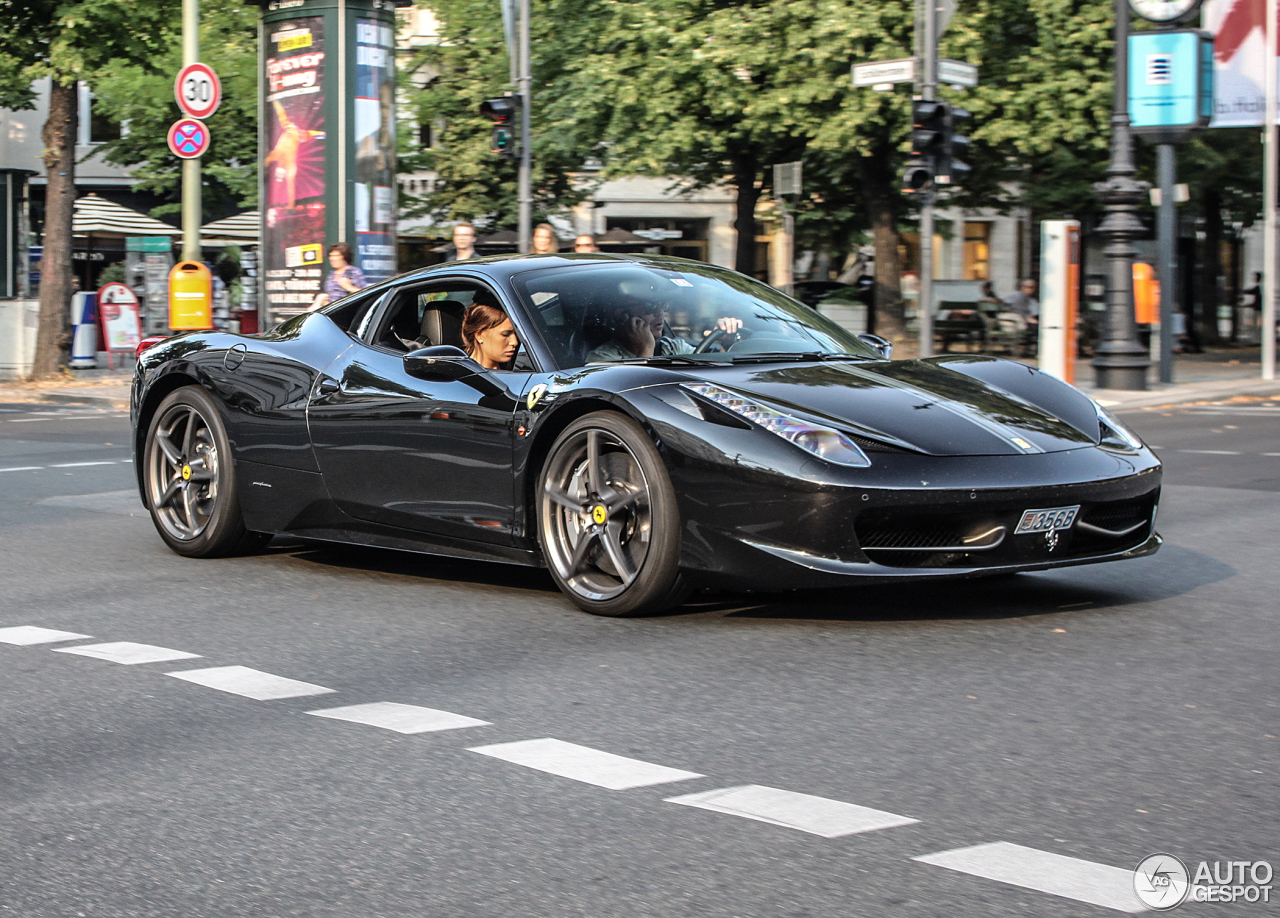 ferrari 458 italia 31 august 2013 autogespot. Black Bedroom Furniture Sets. Home Design Ideas