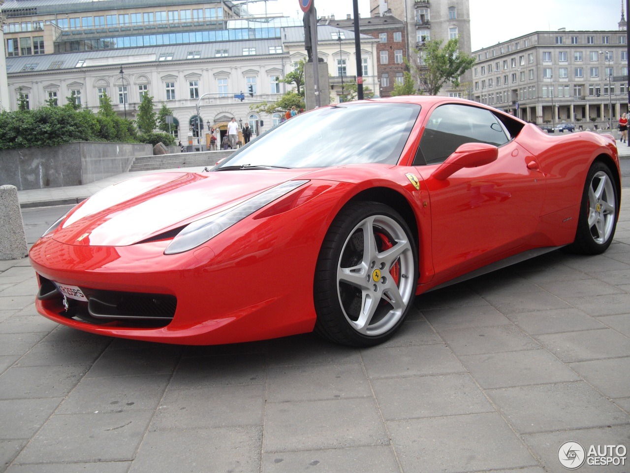 ferrari 458 italia coupe hire london pb supercar hire