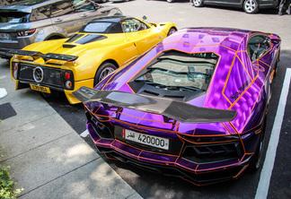 lamborghini aventador lp700 4 lb performance nasser edition - Lamborghini Aventador Chrome Purple