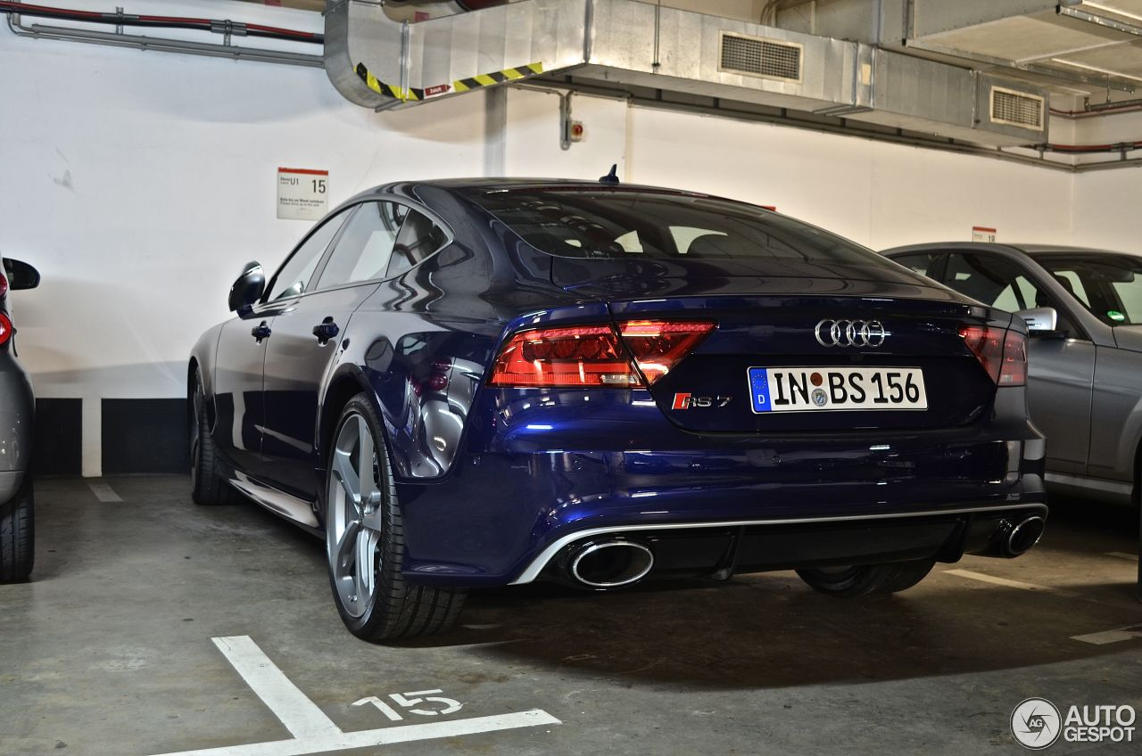audi rs7 sportback 13 september 2013 autogespot. Black Bedroom Furniture Sets. Home Design Ideas
