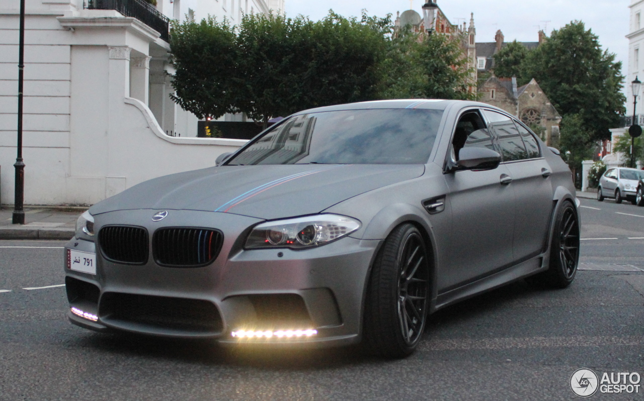 Bmw Hamann M5 F10 19 September 2013 Autogespot