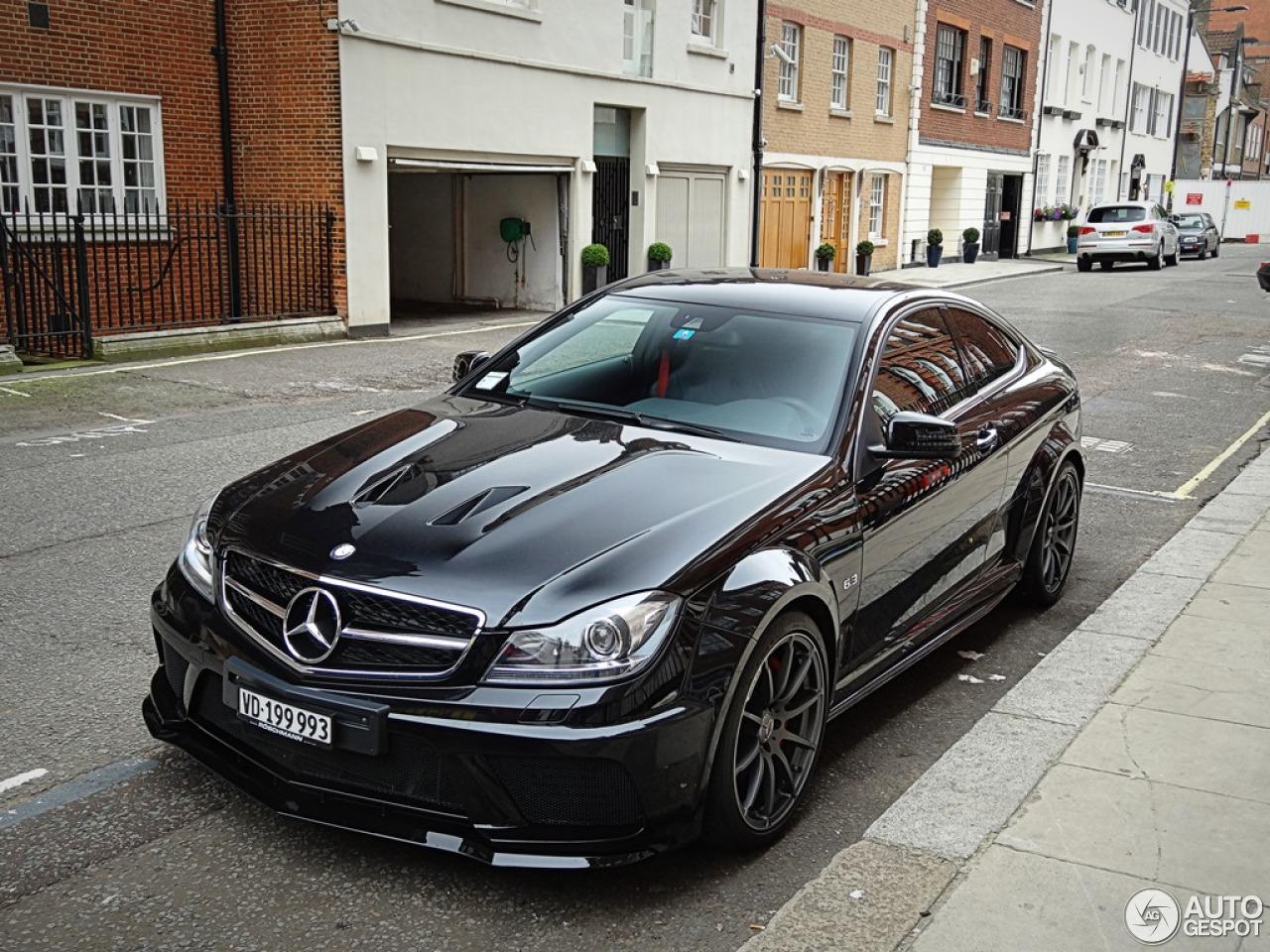 Mercedes 6X6 For Sale >> Mercedes-Benz C 63 AMG Coupé Black Series - 21 September ...