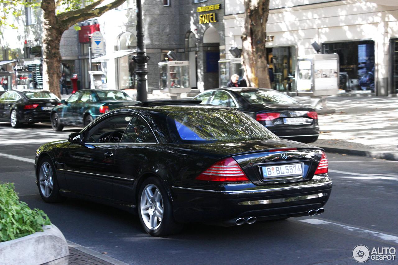 Mercedes benz cl 55 amg c215 kompressor 28 september for Mercedes benz cl 55 amg