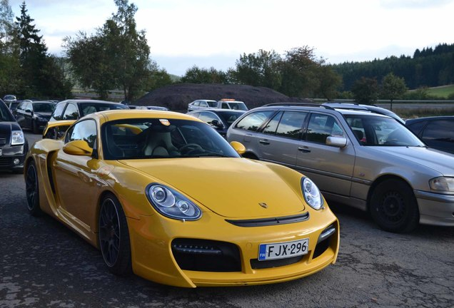 Porsche Cayman Techart GT Widebody