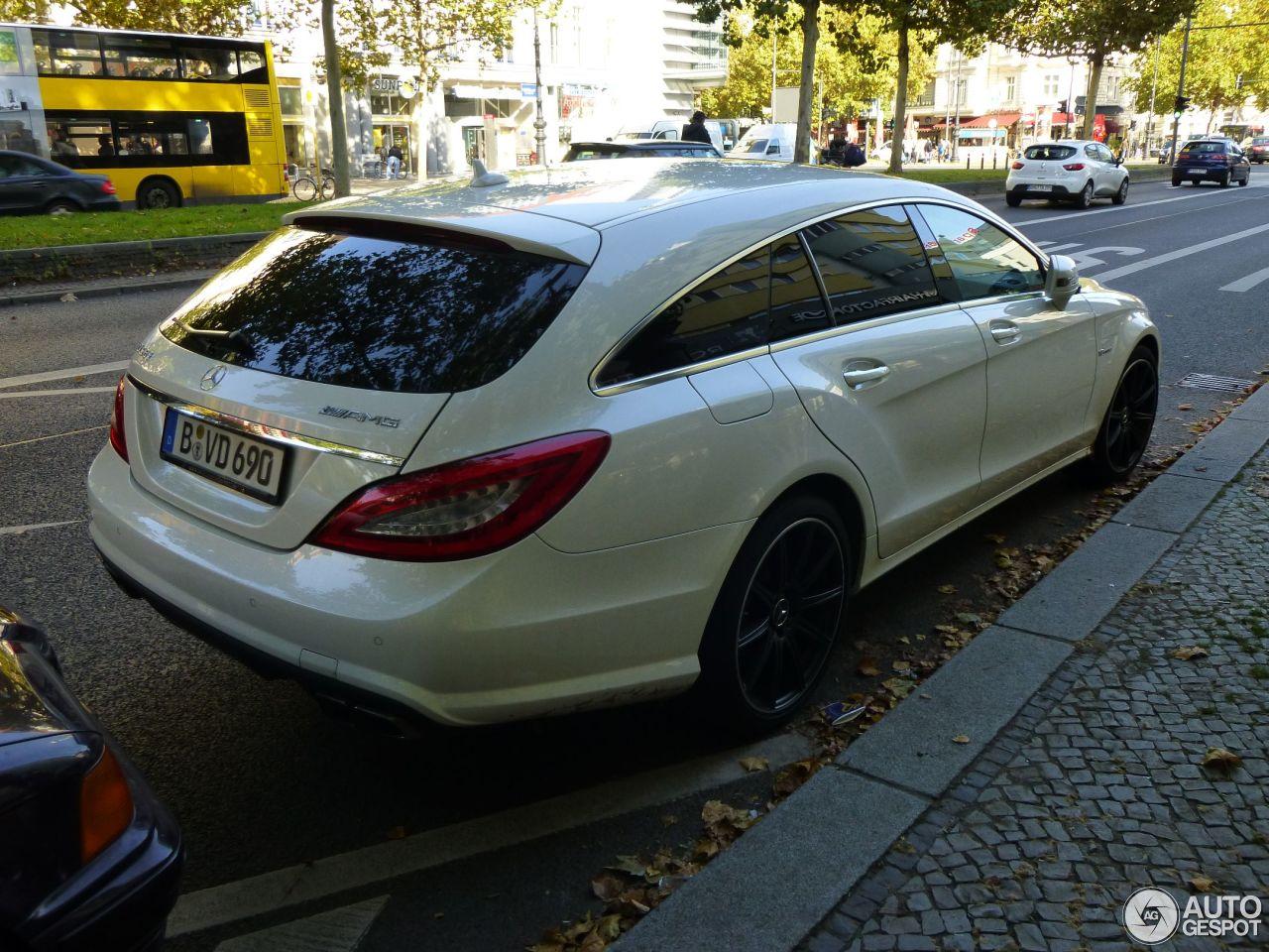 Mercedes-Benz CLS 63 AMG X218 Shooting Brake