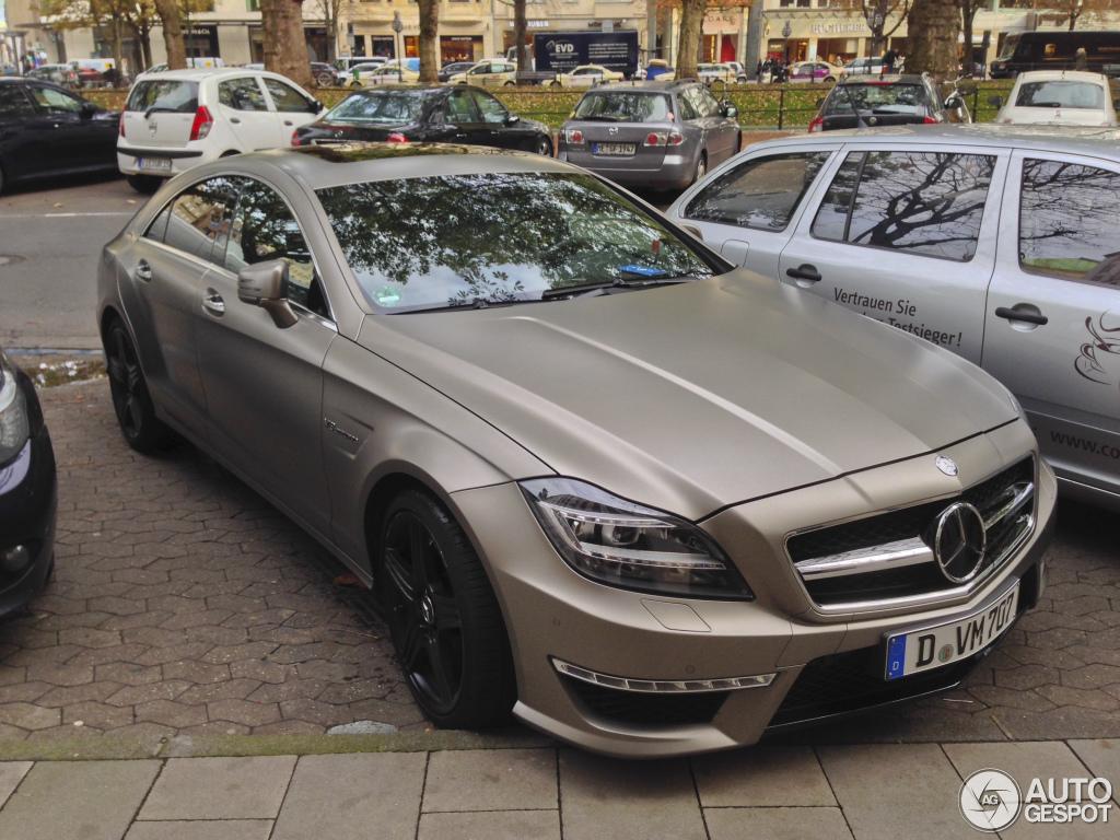 Mercedes Benz Cls 63 Amg C218 21 Oktober 2013 Autogespot