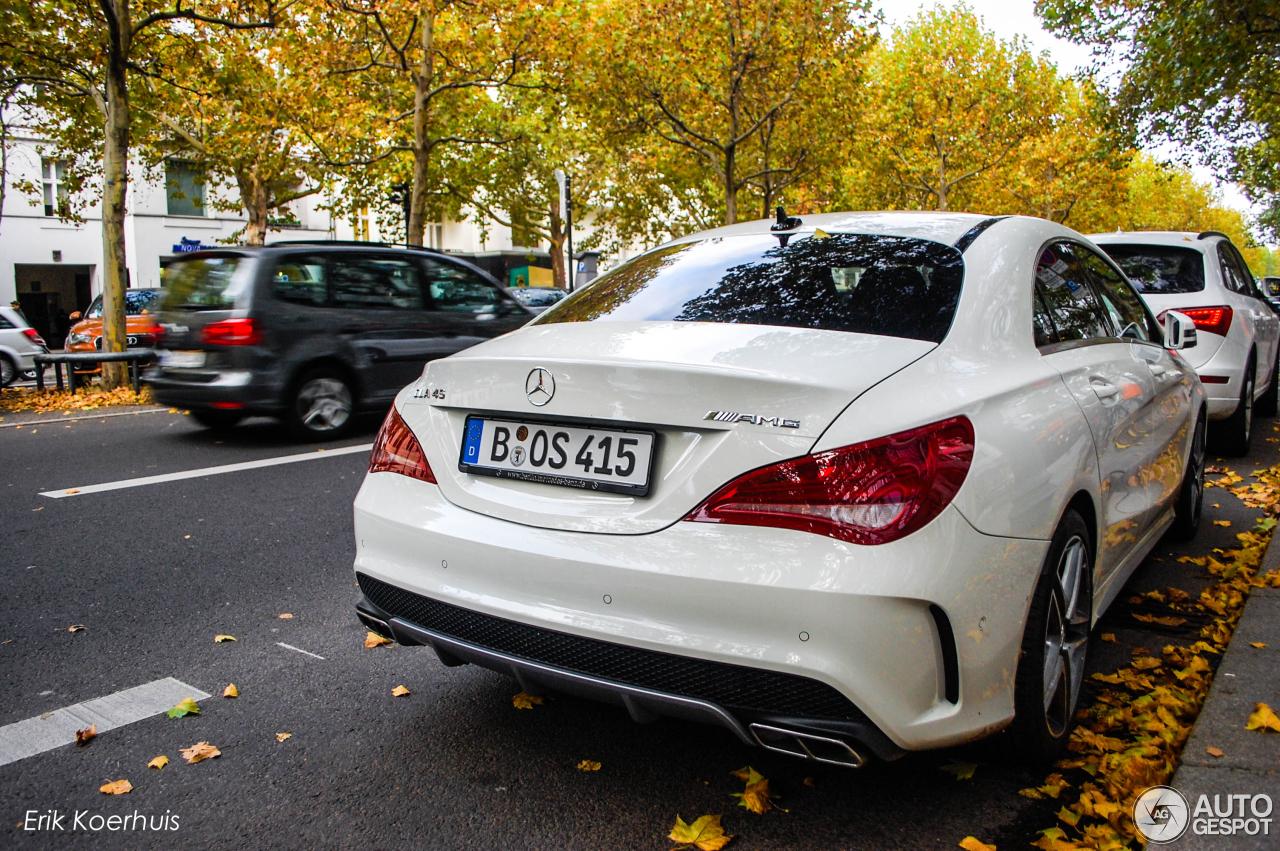 Mercedes Benz Cla 45 Amg C117 22 Oktober 2013 Autogespot