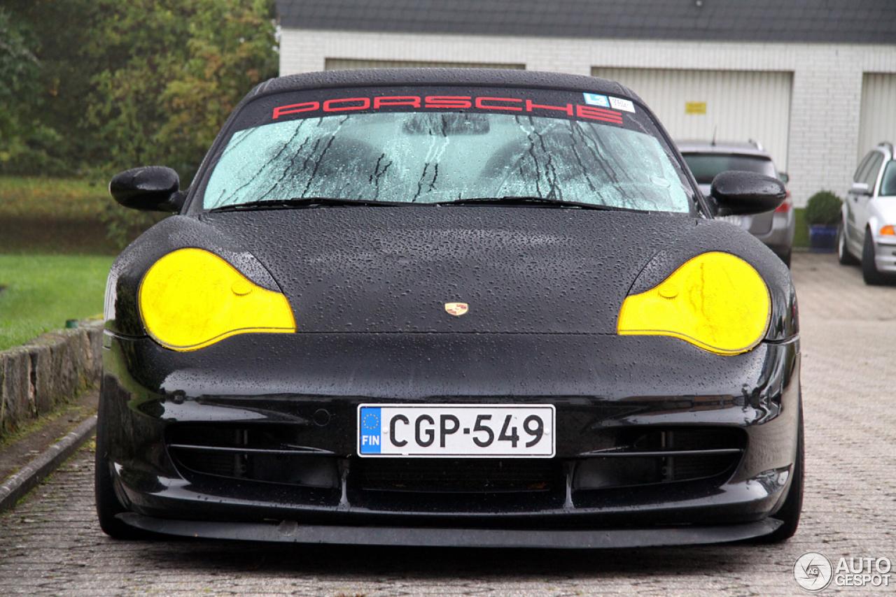 Porsche 996 gt3 rsc cargraphic 25 oktober 2013 autogespot for Gele lampen auto
