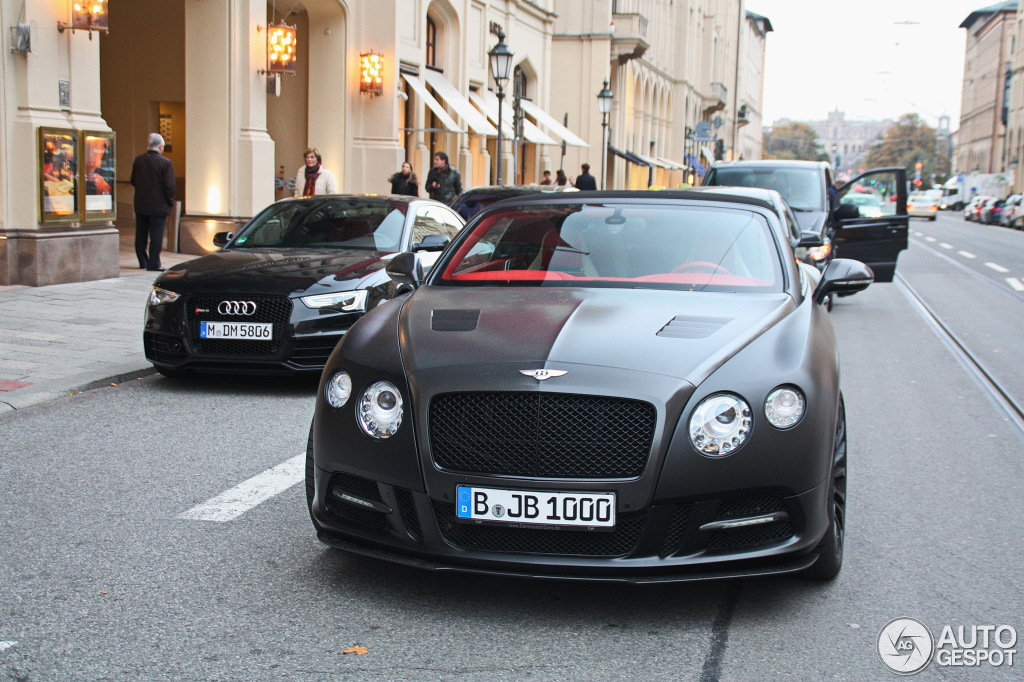 Bentley Mansory Continental Gtc V8 1 November 2013