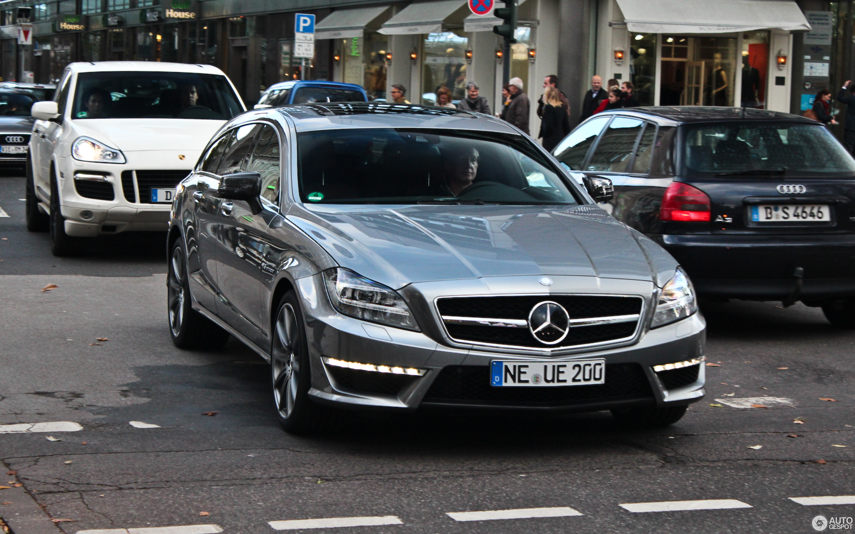 Mercedes Benz CLS 63 AMG X218 Shooting Brake 9 November 2013