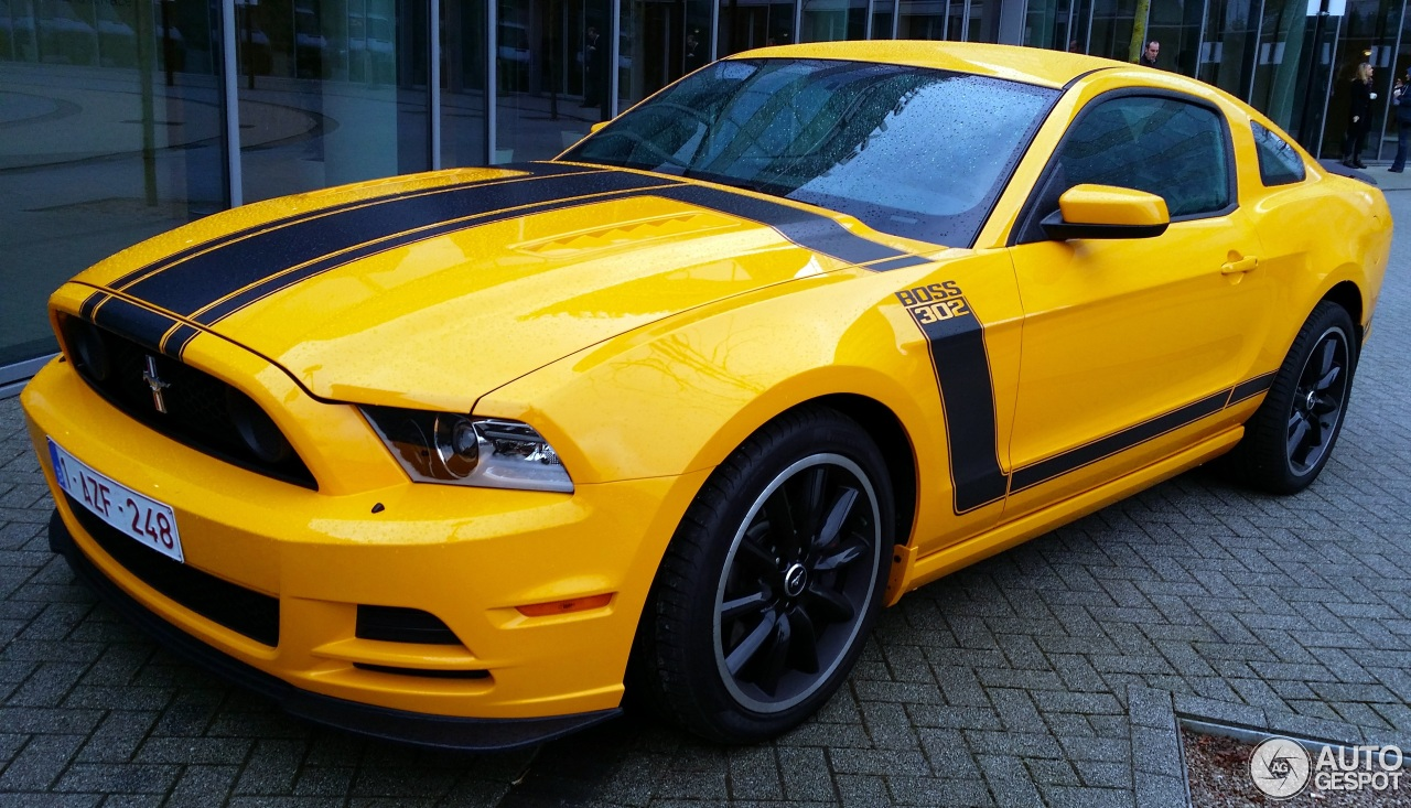 ford mustang boss 302 2013 14 novembre 2013 autogespot. Black Bedroom Furniture Sets. Home Design Ideas
