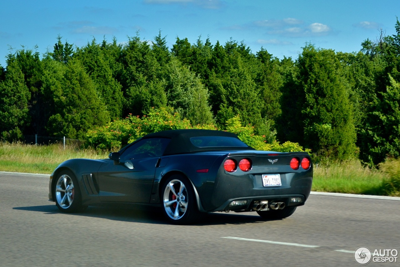 chevrolet corvette c6 grand sport convertible 17 november 2013 autogespot. Black Bedroom Furniture Sets. Home Design Ideas