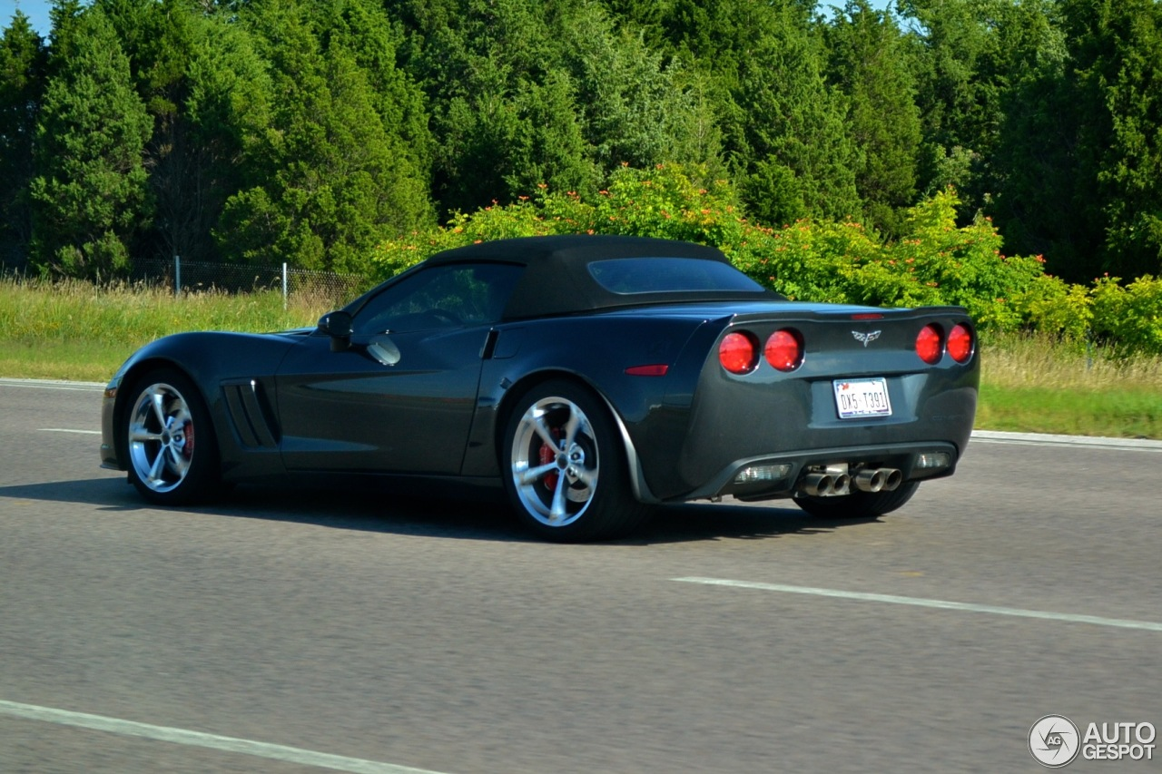 Chevrolet Corvette C6 Grand Sport Convertible 17