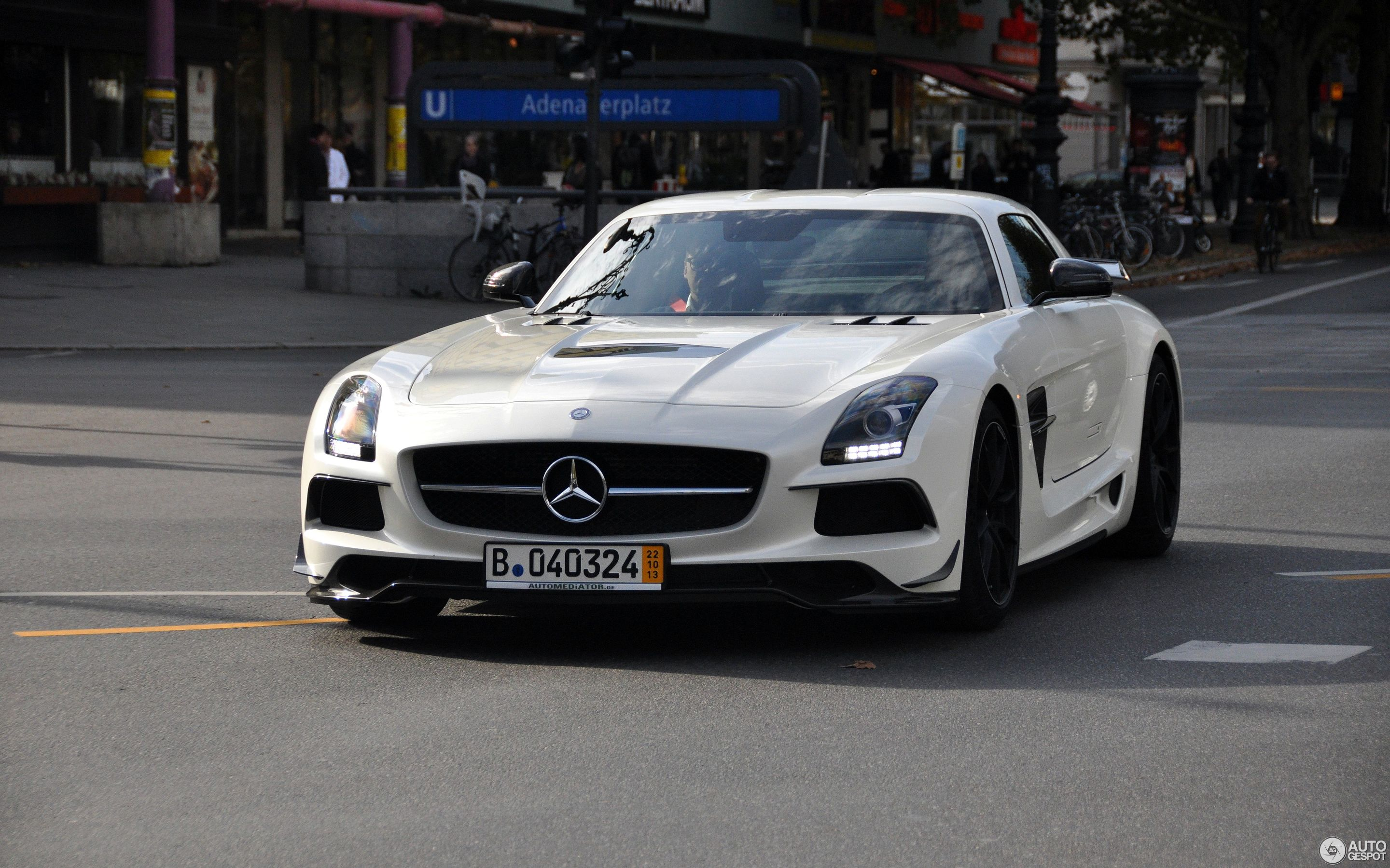 Mercedes Benz SLS AMG Black Series 18 November 2013 Autogespot