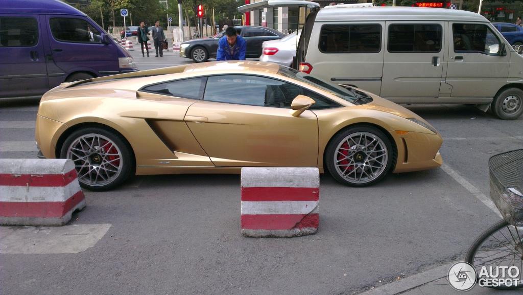Lamborghini Gallardo LP560 4 Gold Edition
