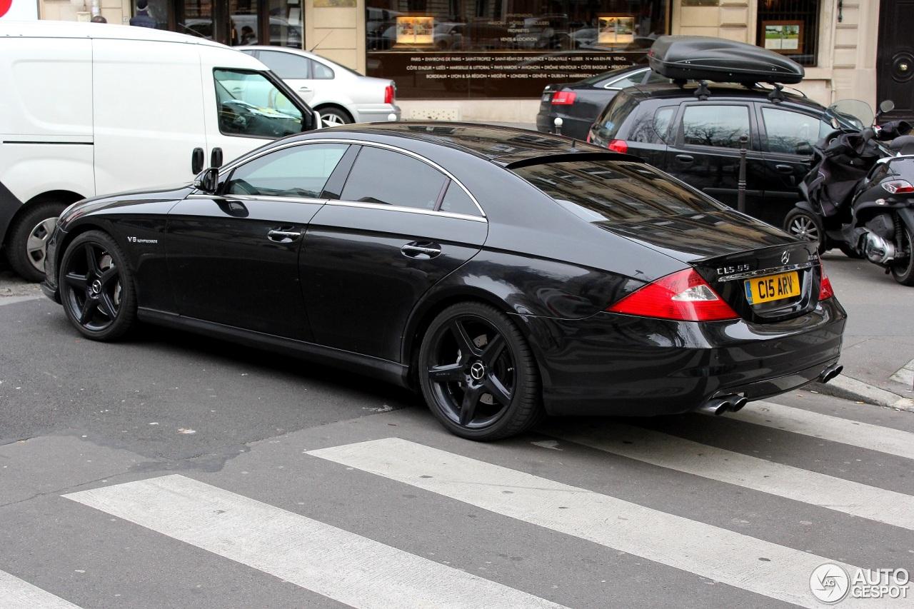 Mercedes benz cls 55 amg 21 december 2013 autogespot for Mercedes benz cls55